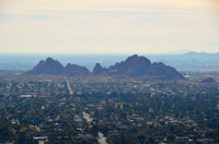 View of Phoenix from Camelback Mountain