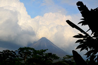 Arenal Volcano in the northern rain forest