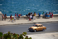 The Malecon along the water front